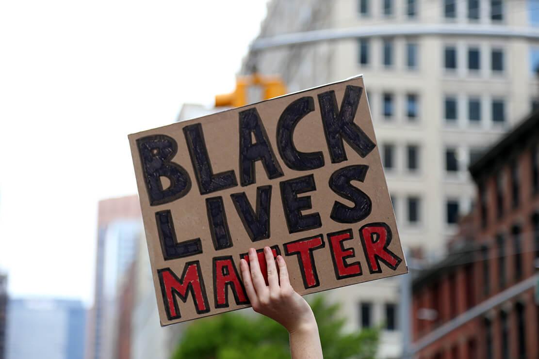 Black Lives Matter demonstrasjon i New York City